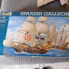 Maquetas: GALEÓN ESPAÑOL. SPANISH GALLEON. REVELL MAQUETA 1:96. GRAN PIEZA DE COLECCIONISTA. Lote 260044235