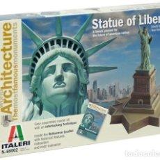 Maquetas: ITALERI 8002 # STATUE OF LIBERTY: WORLD ARCHITECTURE. Lote 260339440
