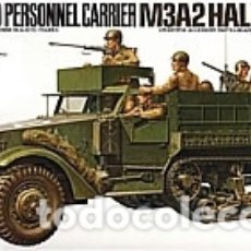 Maquettes: M3A2 HALF TRACK (SIN CAJA) U.S. ARMORED PERSONNEL CARRIER 1:35 TAMIYA 35070 MAQUETA CARRO SEMIORUGA. Lote 260442285