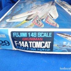 Maquetas: FUJIMI - MAQUETA AVION GRUMMAN F-14A TOMCAT ESCALA 1:48 VER FOTOS! SM. Lote 260622915