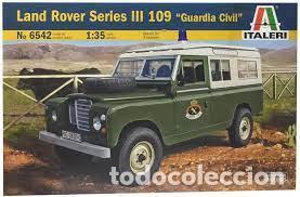 ITALERI - LAND ROVER SERIES III 109 GUARDIA CIVIL 1/35 6542 (Juguetes - Modelismo y Radiocontrol - Maquetas - Militar)