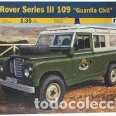 Maquetas: ITALERI - LAND ROVER SERIES III 109 GUARDIA CIVIL 1/35 6542. Lote 261144130