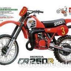 Maquetas: TAMIYA - HONDA CR 250 R MOTOCROSSER 1/12 14011. Lote 261144185