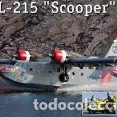 Maquetas: AMODEL - CL-215 SCOOPER 1/144 1453. Lote 261144425