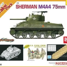 Maquettes: CYBER-HOBBY 9102 # SHERMAN M4A4 75MM 1:35. Lote 216622713