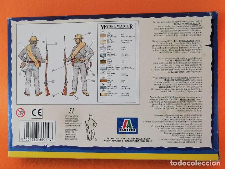 Maquetas: SOLDADITOS DE LA MARCA ITALERI ESCALA 1:72 -INFANTERIA CONFEDERADA - Foto 2 - 261280705