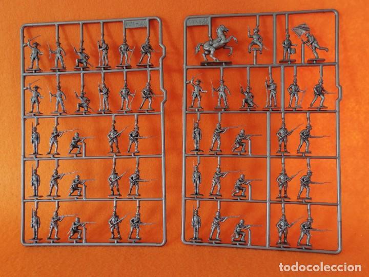 Maquetas: SOLDADITOS DE LA MARCA ITALERI ESCALA 1:72 -INFANTERIA CONFEDERADA - Foto 7 - 261280705