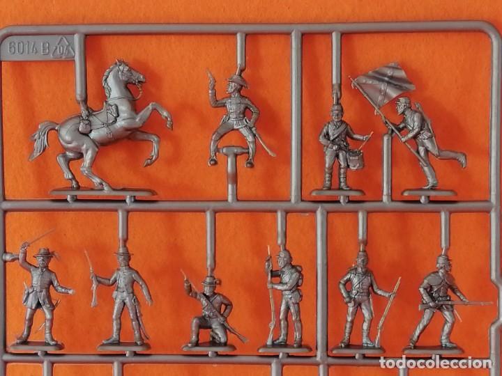 Maquetas: SOLDADITOS DE LA MARCA ITALERI ESCALA 1:72 -INFANTERIA CONFEDERADA - Foto 8 - 261280705