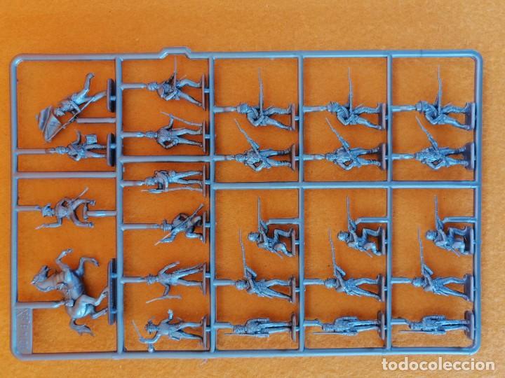 Maquetas: SOLDADITOS DE LA MARCA ITALERI ESCALA 1:72 -INFANTERIA CONFEDERADA - Foto 10 - 261280705
