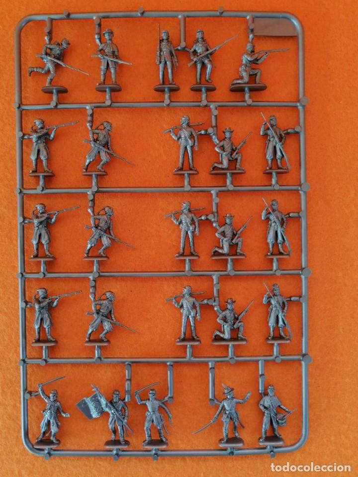 Maquetas: SOLDADITOS DE LA MARCA ITALERI ESCALA 1:72 -INFANTERIA DE LA UNIÓN CON ZOUAVES - Foto 5 - 261281090