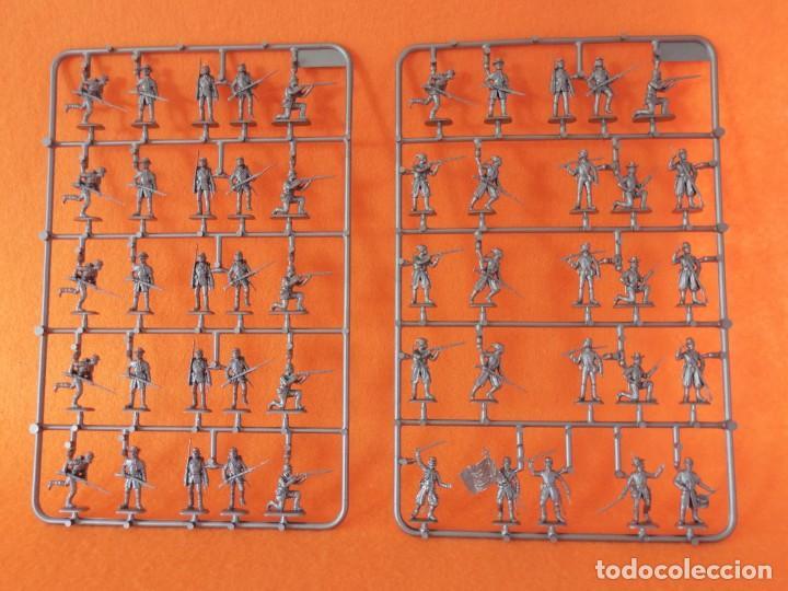 Maquetas: SOLDADITOS DE LA MARCA ITALERI ESCALA 1:72 -INFANTERIA DE LA UNIÓN CON ZOUAVES - Foto 7 - 261281090