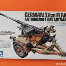 Maquetas: MAQUETA TAMIYA GERMAN 3.7CM FLAK 37 -ANTIAIRCRAFT GUN. Lote 261282285
