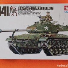 Maquetas: TANQUE U.S. M41 WALKER BULLDOG MARCA TAMIYA ESCALA 1/35. Lote 261284945
