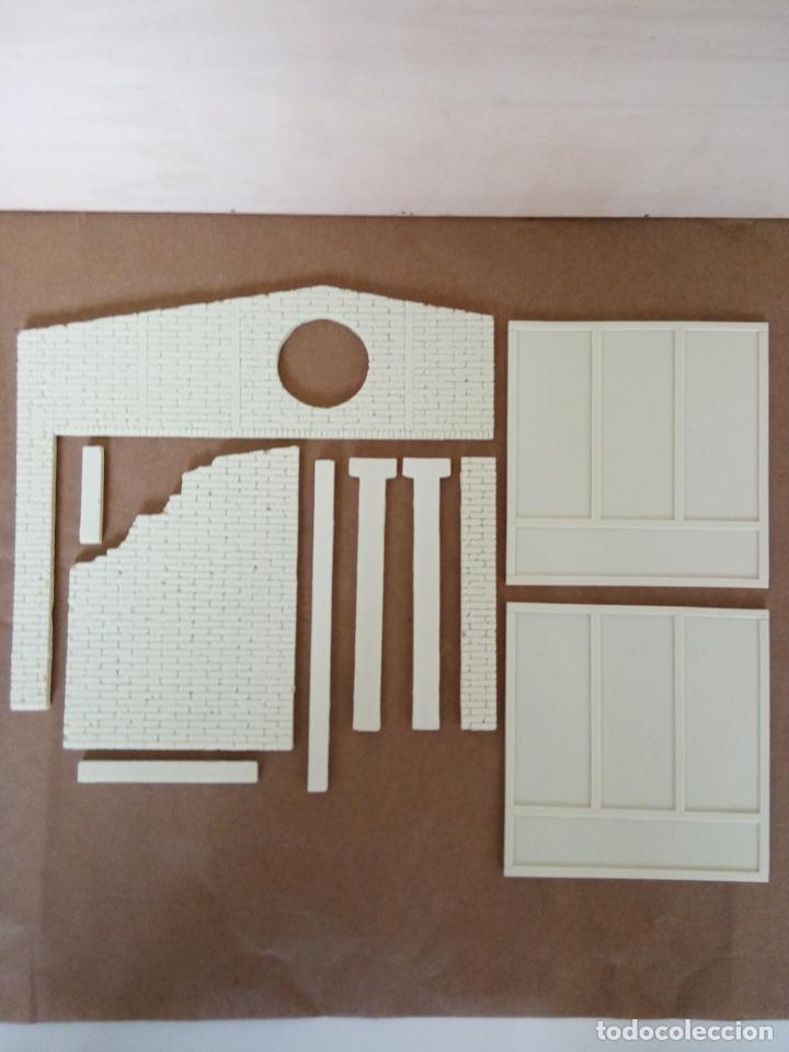Maquetas: WWII FACTORIA/TALLER/GARAJE 1/35 RESINA 10 PIEZAS BUILDING RUINS - Foto 9 - 261288950