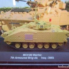 Maquetas: ALTAYA: CARROS DE COMBATE 1/72 - MCV-80 WARRIOR 7TH ARMOURED BRIGADE IRAQ-2003. Lote 261630870