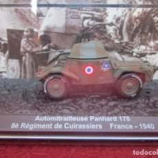 Maquetas: ALTAYA: CARROS DE COMBATE 1/72 - AUTOMITRALLEUSE PANHARD 178 8É RÉGIMENT FRANCE-1940. Lote 261631365