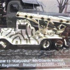 "Maquetas: ALTAYA: CARROS DE COMBATE 1/72 - ZIS 6 / BM 13 ""KATYUSHA"" 4TH GUARDS ROCKET STALINGRAD (USSR)-1942. Lote 261836530"