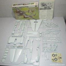 Maquetas: ANTIGUA MAQUETA AVIÓN P-38 J LIGHTNING, ESCALA 1/32, REVELL 1969. Lote 261871485