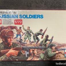 Maquettes: RUSSIAN SOLDIERS SOVIETS 1:72 ESCI 203 MAQUETA FIGURAS. Lote 261876010