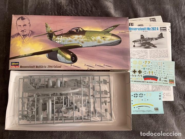 Maquetas: MESSERSCHMITT Me-262A-1a JV44 Galland 1:72 HASEGAWA 02875 maqueta avion - Foto 3 - 261922980
