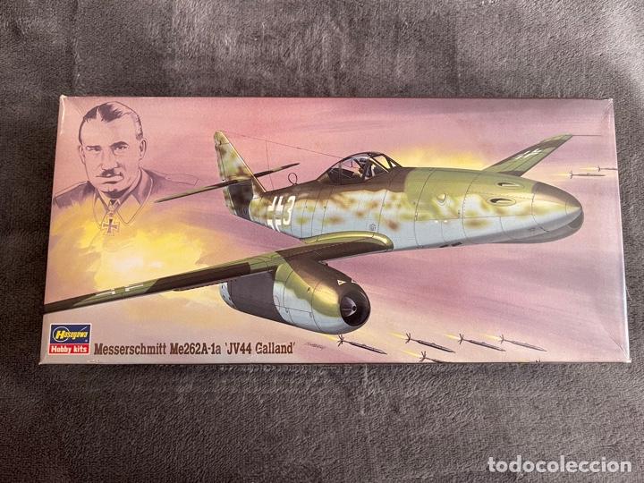 MESSERSCHMITT ME-262A-1A JV44 GALLAND 1:72 HASEGAWA 02875 MAQUETA AVION (Juguetes - Modelismo y Radio Control - Maquetas - Aviones y Helicópteros)