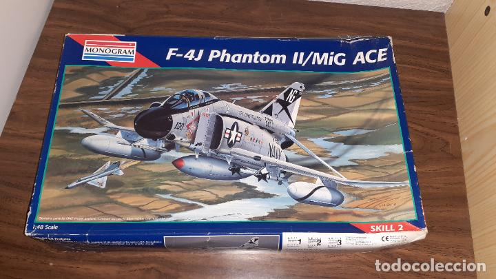 F 4J PHANTOM II MIG KILLER. MONOGRAM 1/48 (Juguetes - Modelismo y Radio Control - Maquetas - Aviones y Helicópteros)