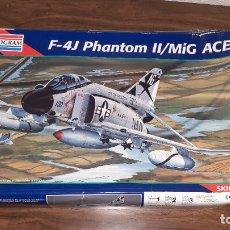 Maquetas: F 4J PHANTOM II MIG KILLER. MONOGRAM 1/48. Lote 261955410