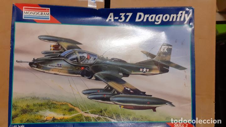 CESSNA A 37 DRAGONFLY. MONOGRAM 1/48 (Juguetes - Modelismo y Radio Control - Maquetas - Aviones y Helicópteros)