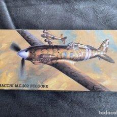 Maquetas: MACCHI M.C. 202 FOLGORE 1:72 HASEGAWA MAQUETA AVION. Lote 261993465