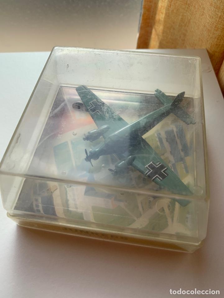 Maquetas: LOTE 3 aviones de metal marca playme años 70 en caja - Modelos STUKA, FOKKER D7 y JUNKERS - Foto 3 - 262036120