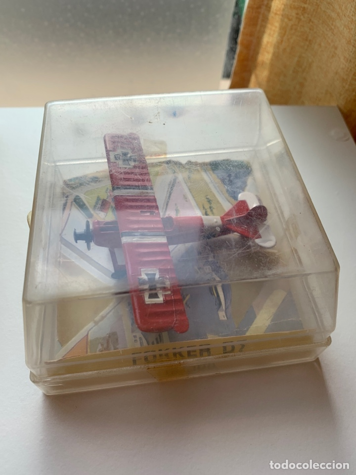 Maquetas: LOTE 3 aviones de metal marca playme años 70 en caja - Modelos STUKA, FOKKER D7 y JUNKERS - Foto 4 - 262036120