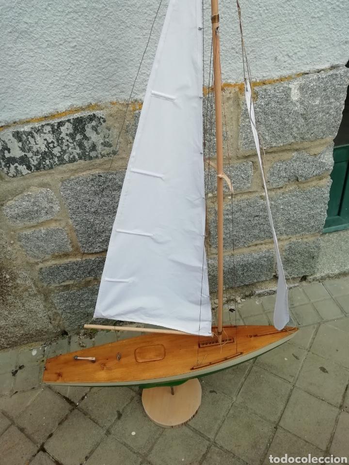Maquetas: Velero navegable años 60. Marca constructo. Balandro de estanque modelo 70. Pond yatch - Foto 4 - 262256945
