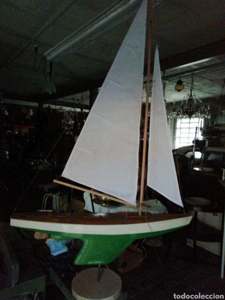 Maquetas: Velero navegable años 60. Marca constructo. Balandro de estanque modelo 70. Pond yatch - Foto 5 - 262256945