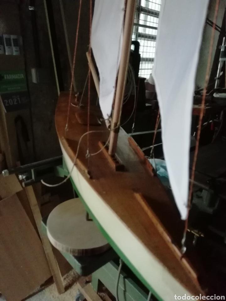 Maquetas: Velero navegable años 60. Marca constructo. Balandro de estanque modelo 70. Pond yatch - Foto 6 - 262256945