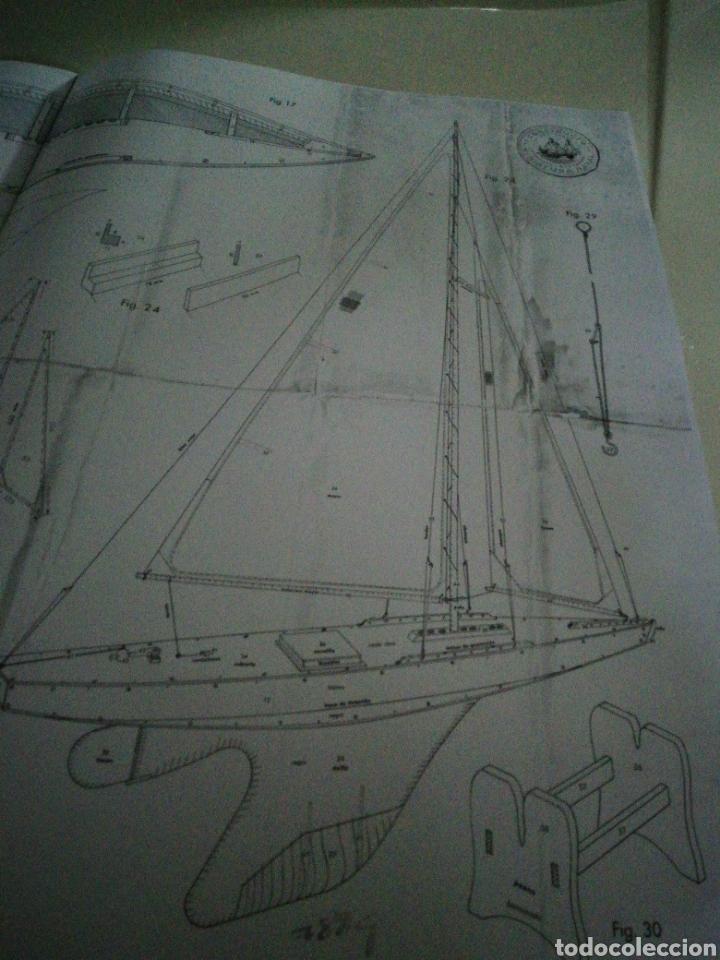Maquetas: Velero navegable años 60. Marca constructo. Balandro de estanque modelo 70. Pond yatch - Foto 7 - 262256945