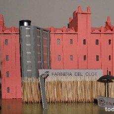Maquetas: MAQUETA LA FARINERA DEL CLOT BARCELONA. Lote 262333020