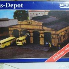 Maquettes: DEPÓSITO DE AUTOBUSES , POLA 678 , ESCALA H0 , KIT PARA MONTAR. Lote 262620575