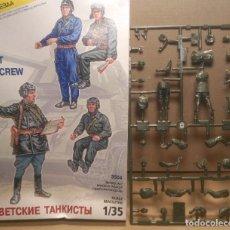 Maquetas: LOTE TANQUITAS SOVIÉTICOS 1/35 PARA PINTAR. Lote 262814845