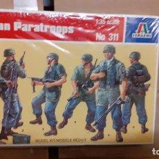 Maquetas: GERMAN PARATROOPS. ITALERI 1/35. Lote 262910805