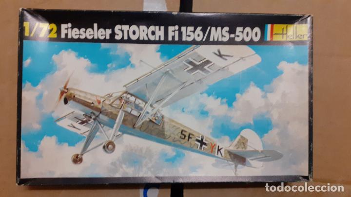 FIESELER STORCH FI 156. HELLER 1/72 (Juguetes - Modelismo y Radio Control - Maquetas - Aviones y Helicópteros)