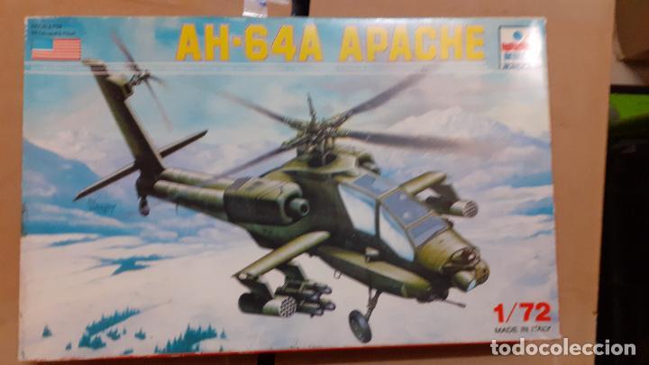 AH 64A APACHE. ESCI 1/72 (Juguetes - Modelismo y Radio Control - Maquetas - Aviones y Helicópteros)