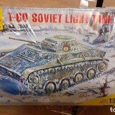 Maquetas: T 60 SOVIET LIGHT TANK. ZVEZDA 1/35. Lote 262911195