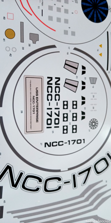 Maquetas: U.S.S ENTREPRISE NCC 1701- STAR TREK INTO DARKNESS - 1/500 - REVELL - PLASTIC MODEL KIT - - Foto 12 - 262979435