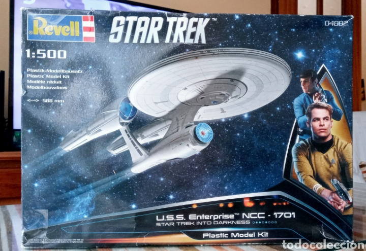 Maquetas: U.S.S ENTREPRISE NCC 1701- STAR TREK INTO DARKNESS - 1/500 - REVELL - PLASTIC MODEL KIT - - Foto 20 - 262979435