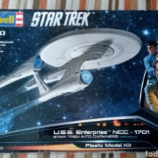 Maquetas: U.S.S ENTREPRISE NCC 1701- STAR TREK INTO DARKNESS - 1/500 - REVELL - PLASTIC MODEL KIT -. Lote 262979435