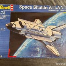 Maquetas: SPACE SUTTLE ATLANTIS ( DISCOVERY, ENDEAVOUR ) 1:72 REVELL 04733 MAQUETA TRANSBORDADOR ESPACIAL. Lote 263177790