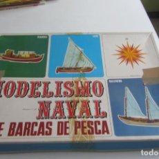 Maquetas: MAQUETA DE MODELISMO NAVAL BALLENERA EQUIPO 106 SERIE BARCAS DE PESCA ART AMB FUSTA ESCALA 1:34. Lote 263185380