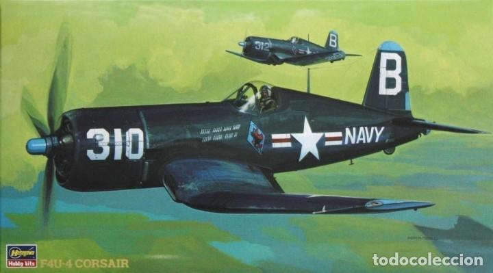 HASEGAWA 09125 # 1:48 F4U-4 CORSAIR (Juguetes - Modelismo y Radio Control - Maquetas - Aviones y Helicópteros)