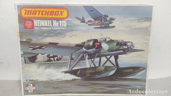 HEINKEL HE 115 MATCHBOX PK-401. ESCALA 1/72 .AÑOS 70 NUEVO (Juguetes - Modelismo y Radio Control - Maquetas - Aviones y Helicópteros)