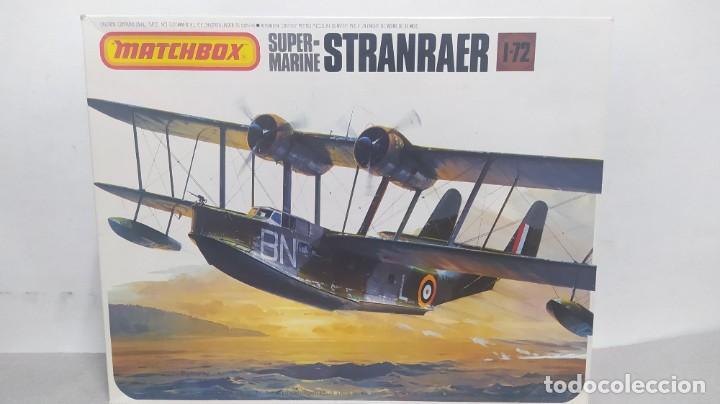 SUPERMARINE STRANRAER MATCHBOX PK-601. ESCALA 1/72 .AÑOS 70 NUEVO (Juguetes - Modelismo y Radio Control - Maquetas - Aviones y Helicópteros)
